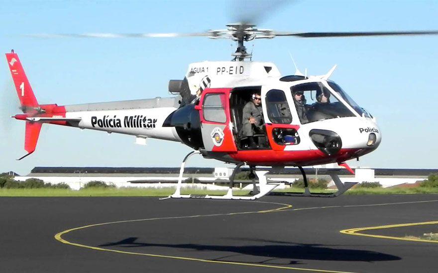 Revide, Após assalto, ladrões são encontrados por helicóptero águia da PM, em Ribeirão, assalto, chácara, crime