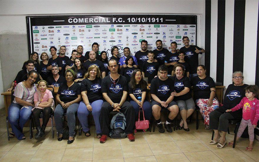 Revide, Comercial firma parceria com equipe de futsal down, Comercial, Futsal Down, Ribeirão Preto