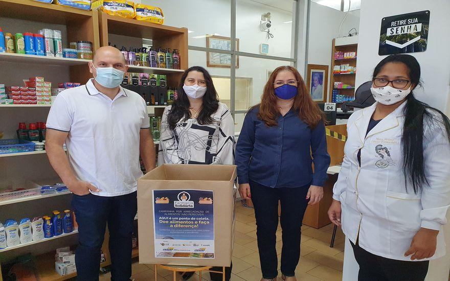 """Revide, Campanha """"Farmácia Solidária"""" arrecada alimentos para doação, em Ribeirão Preto, Arrecadação, Ribeirão Preto, Farmácia Solidária"""
