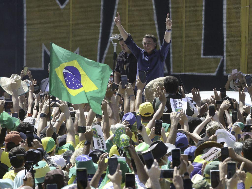 Revide, Governo de São Paulo multa Bolsonaro por não usar máscara em ato na avenida Paulista, Sete de Setembro, Bolsonaro, Multa, São Paulo, Protesto,