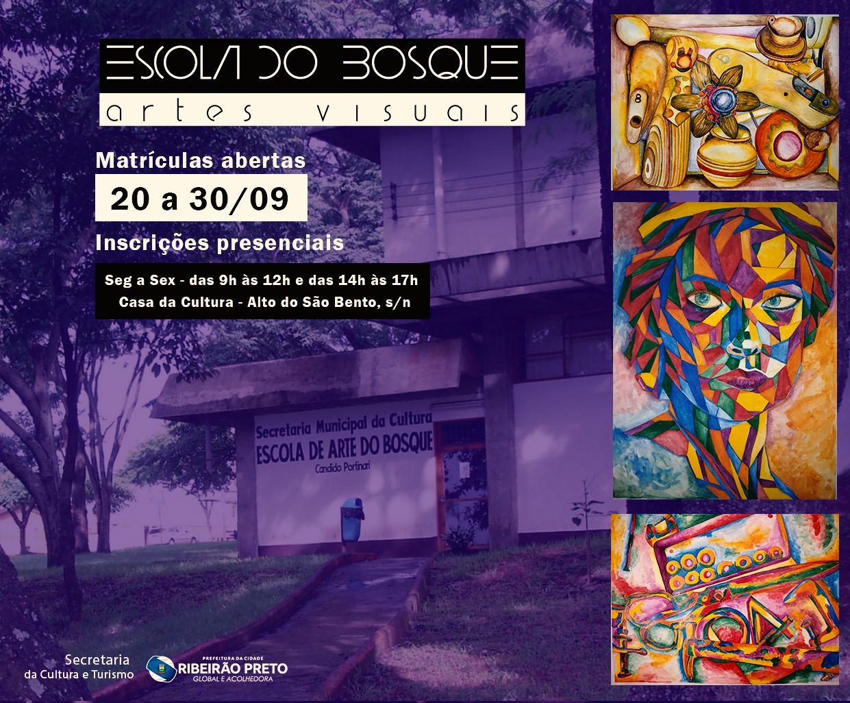 Revide, Escola de Arte Cândido Portinari abre novas turmas presenciais em Ribeirão Preto , educação, arte, Ribeirão Preto, Cândido Portinari