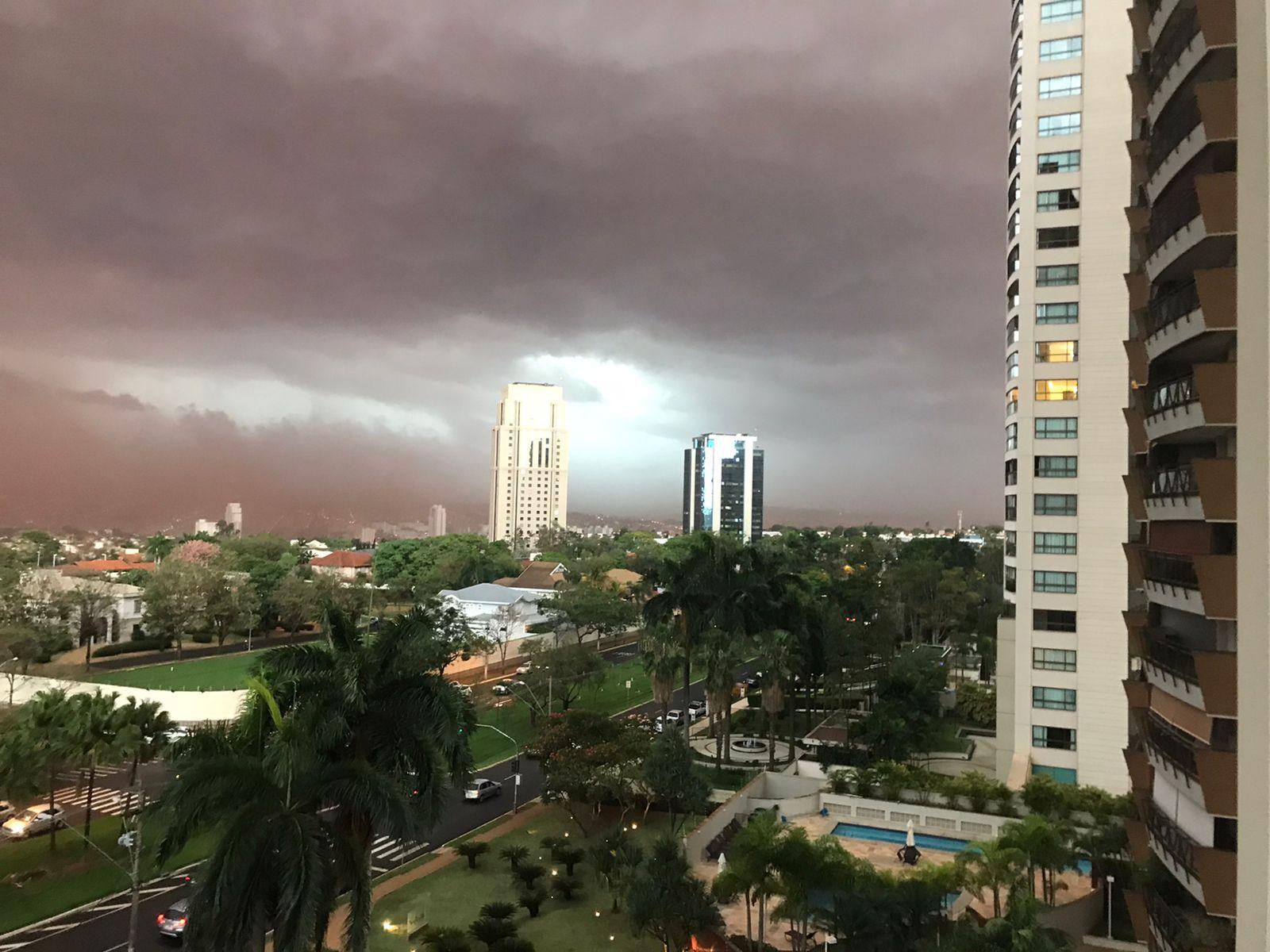 Revide, Nuvem de poeira volta atingir cidades da região de Ribeirão Preto , clima, tempestade, previsão do tempo, Ribeirão Preto